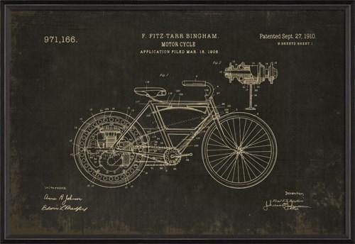 BC Bingham Motorcycle 971166 on black med