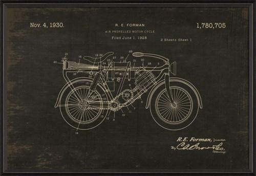 BC Forman Motorcycle 1780705 Black med