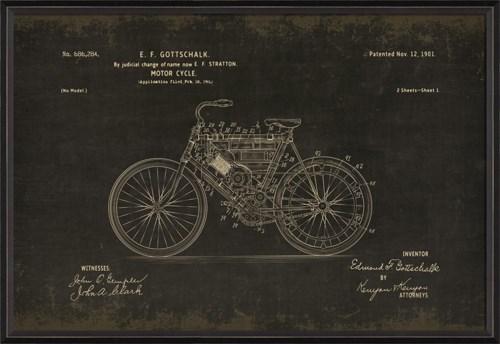 BC Gottschalk Motorcycle 686284 black med