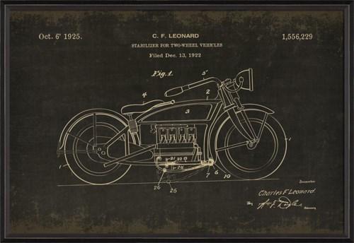 BC Leonard Motorcycle 1556229 black med