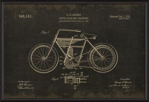 BC Meiser Motorcycle 948181 on black med