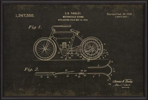 BCBL Motorcycle Tinsley 1347355 black xl