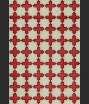 Pattern 23 Dressed in Scarlet 70x102