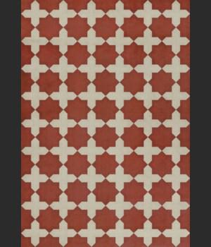 Pattern 23 Red Like Crimson 70x102