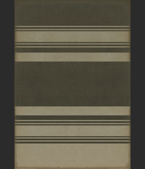 Pattern 50 Organic Stripes Black and Tan 70x102