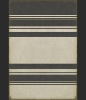 Pattern 50 Organic Stripes Black and White 70x102