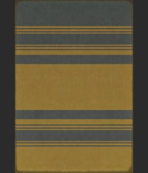 Pattern 50 Organic Stripes Blue and Yellow 70x102