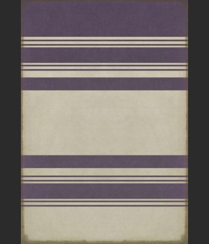 Pattern 50 Organic Stripes Purple and White 70x102