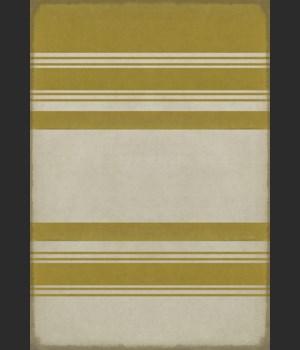 Pattern 50 Organic Stripes Yellow and White 70x102