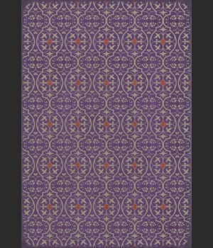 Pattern 51 I Shall Wear Purple 70x102