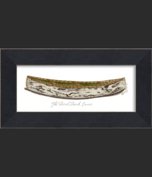 MI Birch Bark Canoe