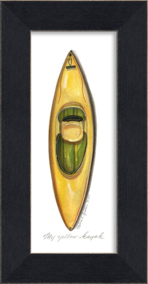 MI Yellow Kayak