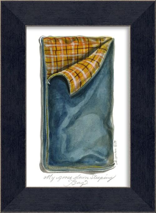 MI Blue Sleeping Bag