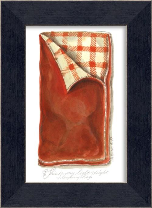 MI Red Sleeping Bag