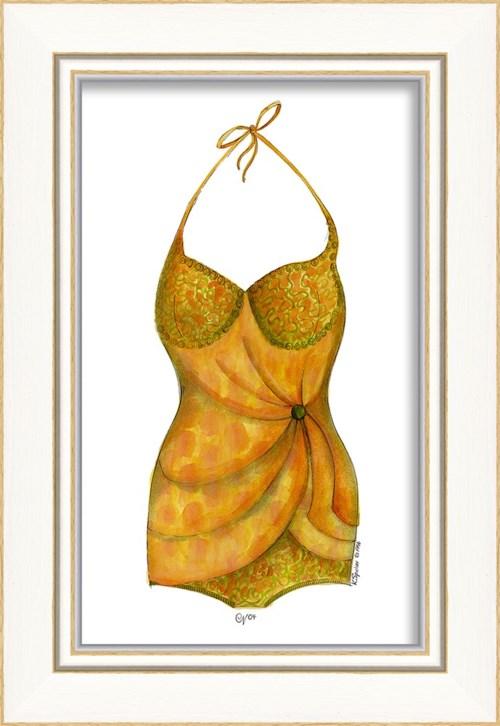 KI Swimsuit Orange