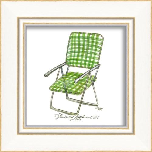 KI Green Beach Chair