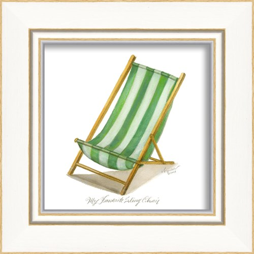 KI Green Sling Chair