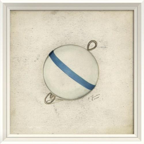 WCWL Blue and White Bobber