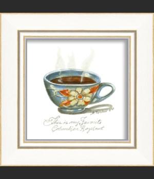 KI Floral Coffee Cup