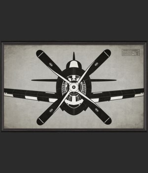 BC Airplane Republic P47 Thunderbolt