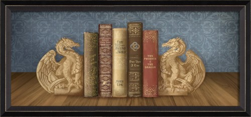 BC Bookends Here there be Dragons