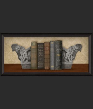 BC Bookends Watch the Gargoyles