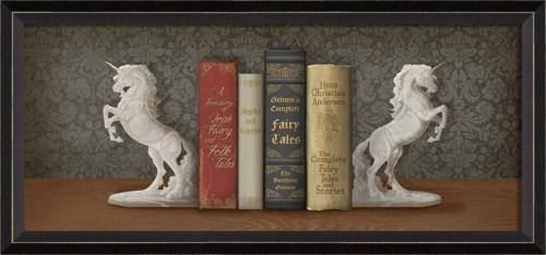 BC Bookends White Unicorn