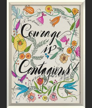 WC Wildflowers Courage is Contagious