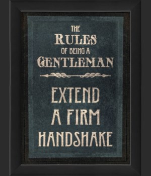 EB The Rules of Being a Gentleman FIRM HANDSHAKE