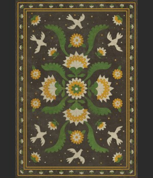 Williamsburg - Applique - The Greenest Dells 70x102