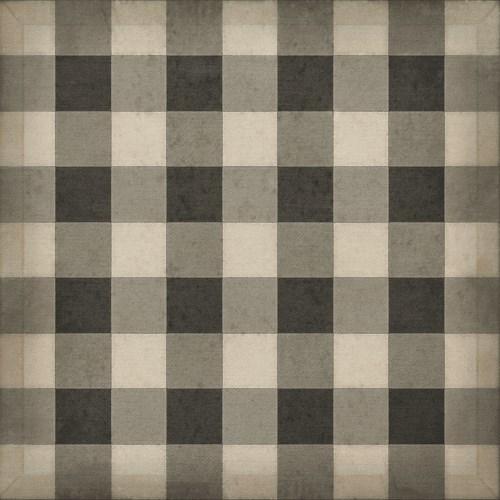 Williamsburg - Gingham Canvas - Black 36x36