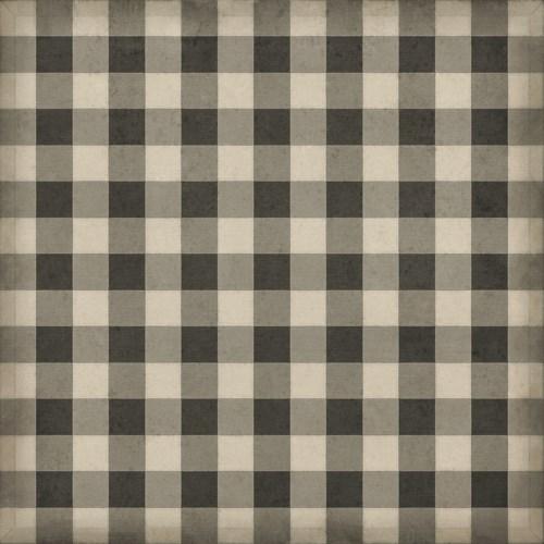 Williamsburg - Gingham Canvas - Black 72x72