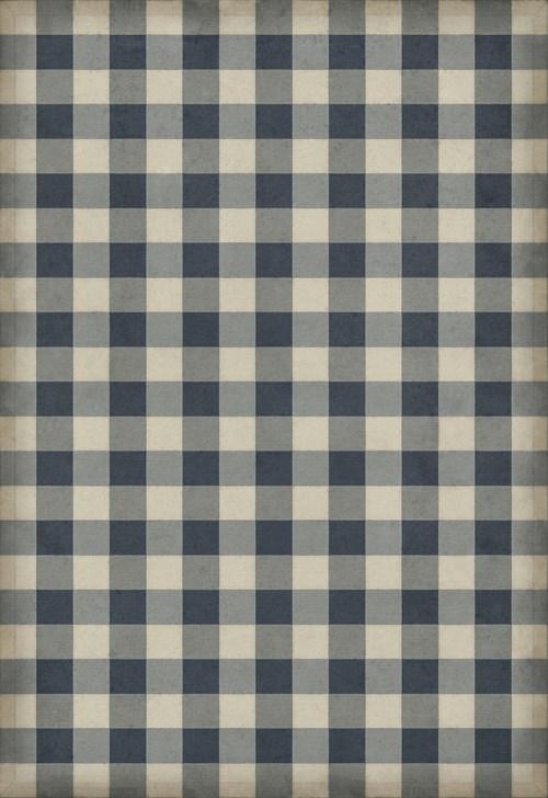 Williamsburg - Gingham Canvas - Blue 70x102