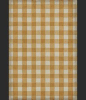 Williamsburg - Gingham Canvas - Yellow 70x102