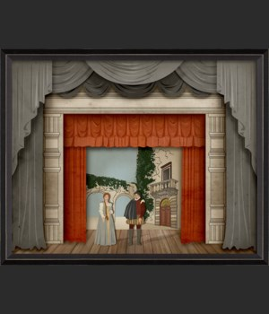 BC Theater Stage To Be or Not to Be with characters sm