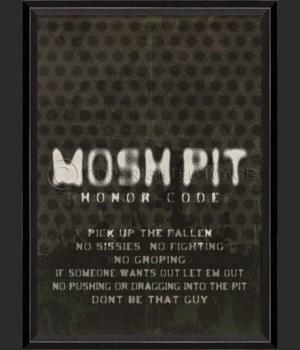 BC Mosh Pit Honor Code