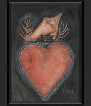 BC Seashell Heart