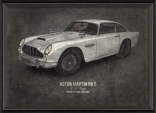 BC Aston Martin DB 5 17x24