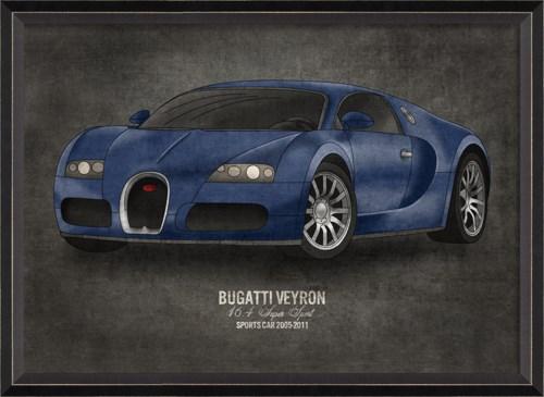 BC Bugatti Veyron 17x24