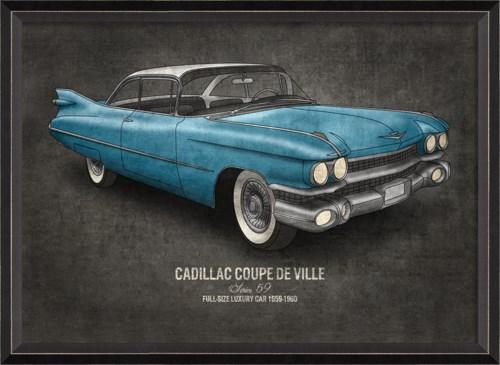 BC Cadillac Coupe de Ville 17x24