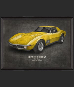 BC Corvette Stingray 17x24