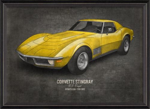 BC Corvette Stingray 17x24