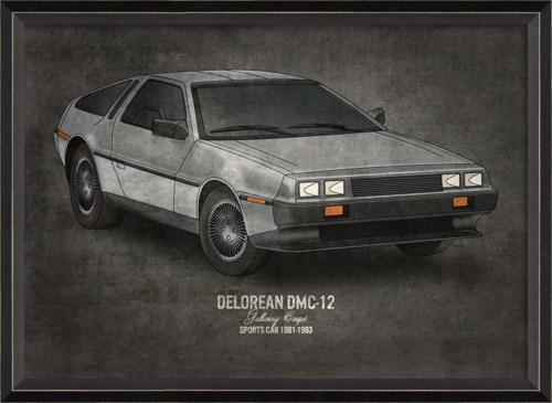 BC Delorean DMC-12 17x24