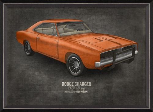 BC Dodge Charger 17x24