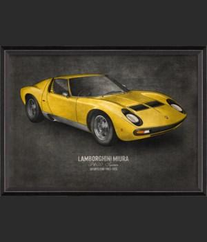 BC Lamborghini Miura 17x24