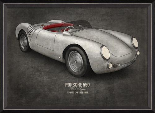 BC Porsche 550 17x24