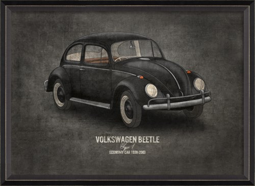 BC Volkswagen Beetle 17x24