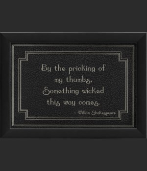 EB Macabre - By the Pricking of my Thumbs