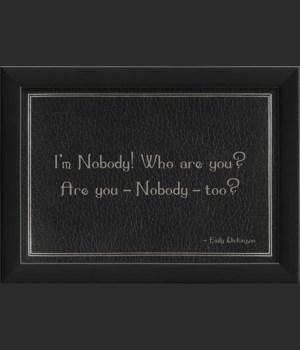 EB Macabre - Im Nobody Who Are You