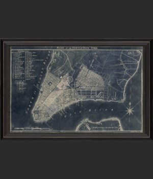 BC New York Map1789 Blue